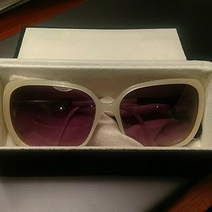 3.1 Phillip Lim mod Jolie Acetate Sunglasses Ivory